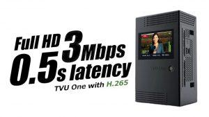 TVU One disponible en H.265