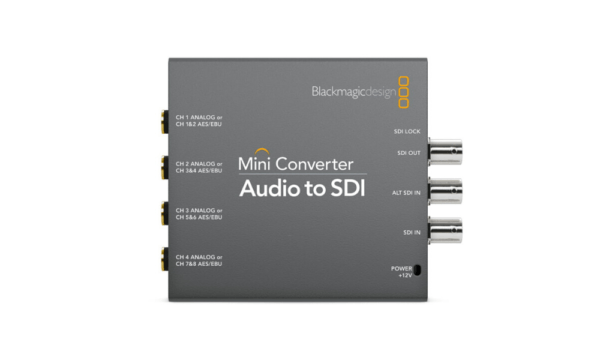 Mini Converter – Audio to SDI 2