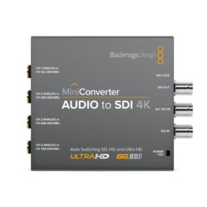 Mini Converter – Audio to SDI 4K