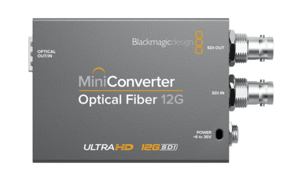 Mini Converter – Optical Fiber 12G