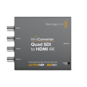 Mini Converter – Quad SDI to HDMI 4K 2
