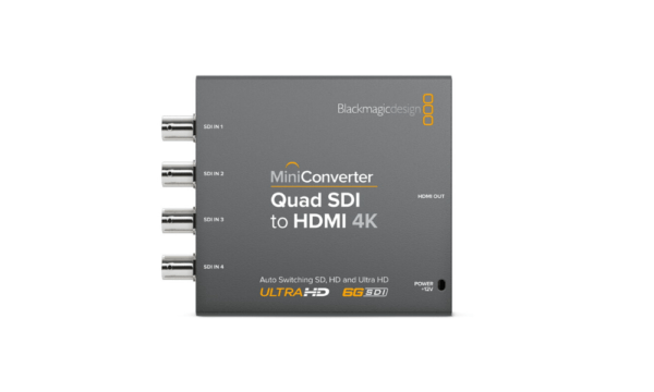 Mini Converter – Quad SDI to HDMI 4K 2