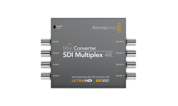 Mini Converter – SDI Multiplex 4K