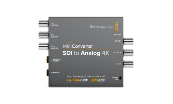 Mini Converter – SDI to Analog 4K