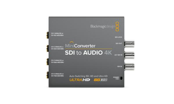 Mini Converter – SDI to Audio 4K