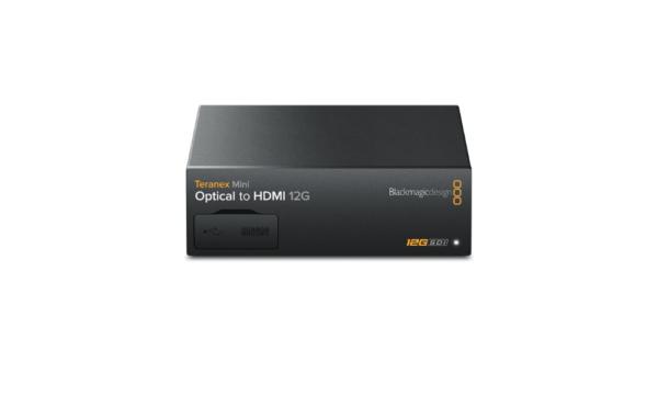 Teranex Mini – Optical to HDMI 12G